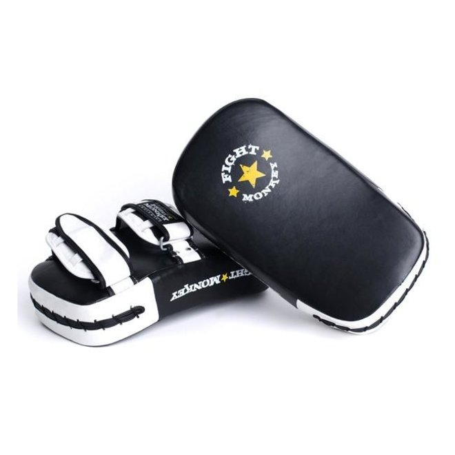 Fight Monkey Leather Muay Thai Pads Pair
