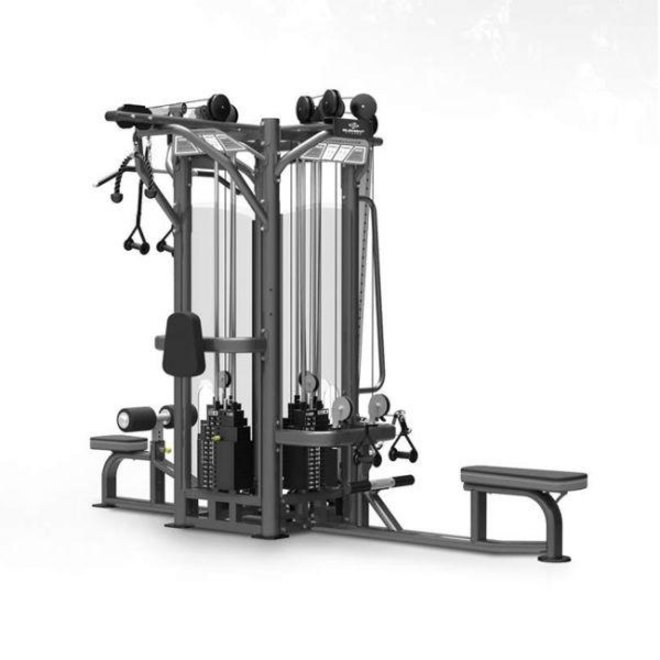 Element Titanium 4 Stack Multi Station (Seated Row, Lat Pulldown, High Low Pulley, Adjustable Pulley Column) w/275lbs