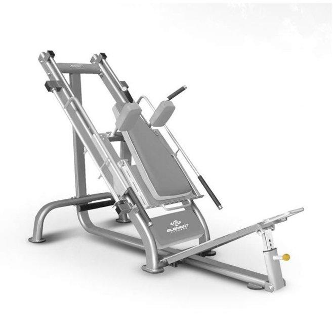 Element Commercial Leg Press /Hack Squat Combo Plate Loaded