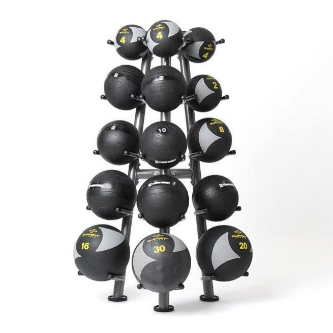 Element Commercial 15 Ball Medicine Ball Rack