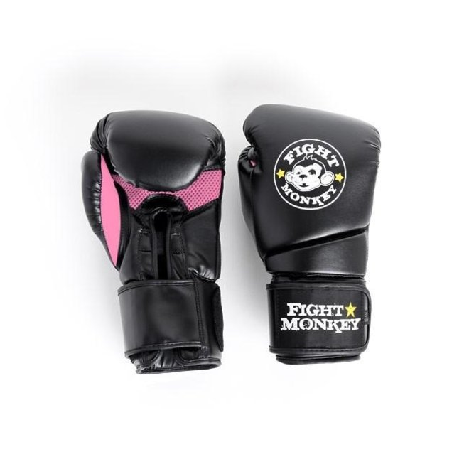 Fight Monkey Pink 12oz Training Gloves