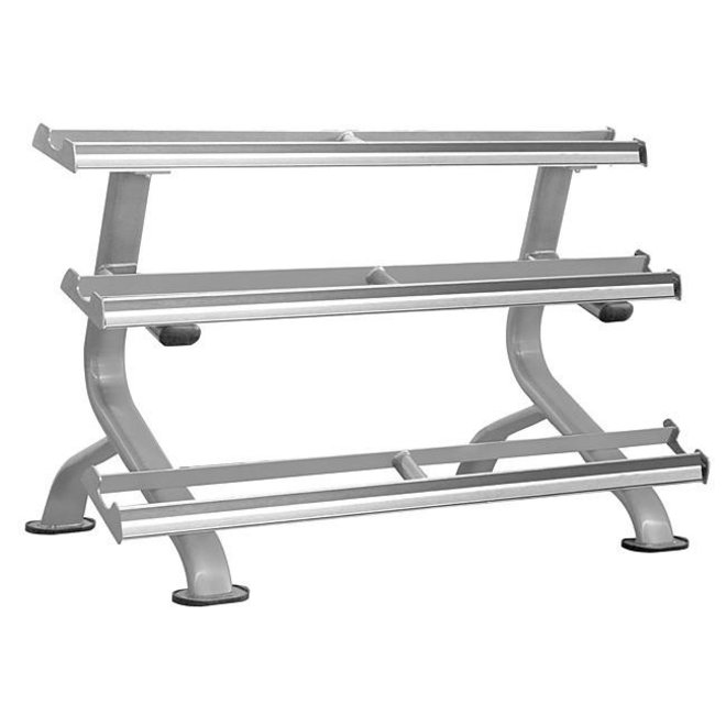 Element Titanium 5' 3 Tier Tray Dumbbell Rack 5-75lbs or 80-110lbs