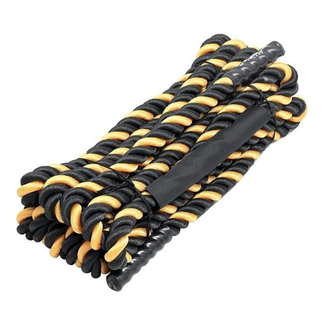 FIT505 50' 1.5'' Black/Yellow Battle Ropes