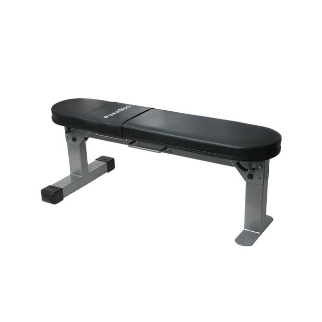Flat Travel Bench with Handle Powerblocks
