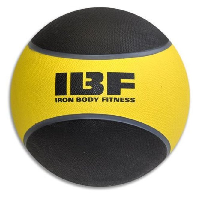 BY 10lbs Medicine Ball Rubber 2 tone