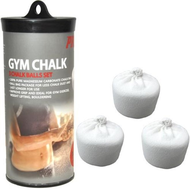 PRCTZ Gym Chalk Ball Set - 54g x 3 balls