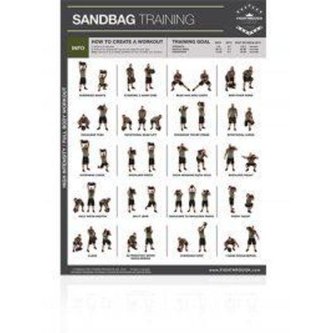 Fighthrough Sandbag Poster