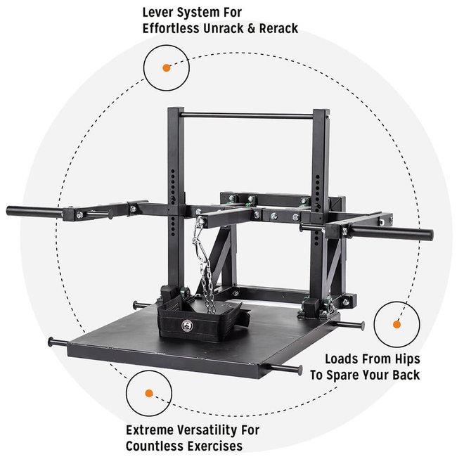 Belt Squat Machine 2.0 With Belt