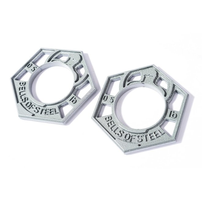 0.5LBS Fractional Plate (Set of 8)