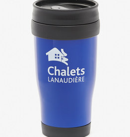 Blue insulated cup 16 oz