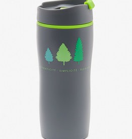 Grey insulated cup 20 oz