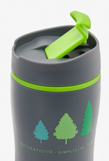 Insulated coffee cup - plastic 20 oz