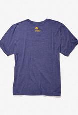SPORT-TECH Heather blue printed t-shirt for men