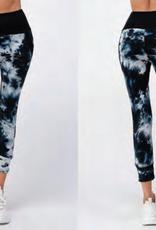 Dance & Marvel DMT40195 T/D Hood Top Pant Set Navy