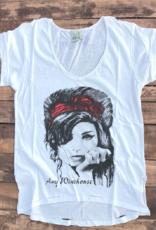 Jaded gypsy Amy Winehouse graphic tee