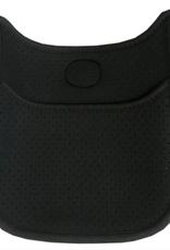 ah-dorned N106MP/MINI BLACK PERFERATED NEOPRENE MESSENGER NO STRAP