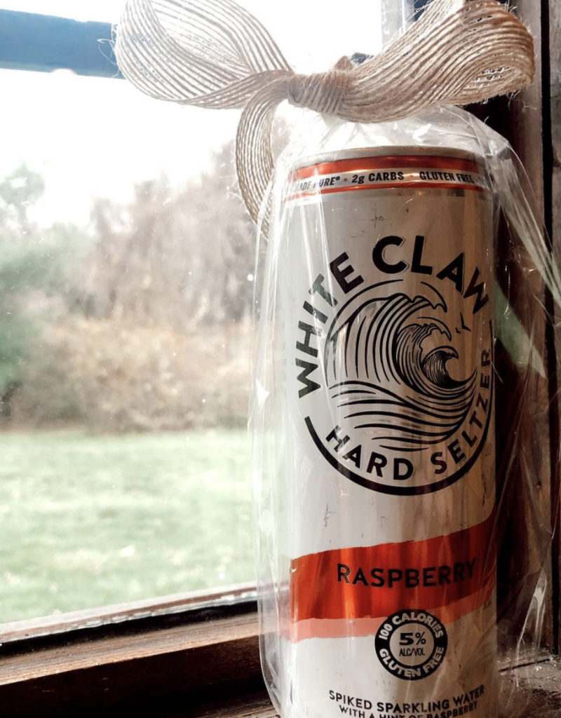 Repurposed Candle Company White Claw Candle