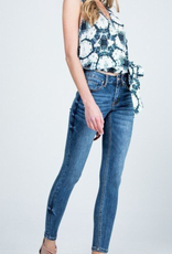 Special A P7281D-SA  MID RISE WITH ZIPPER FLY - ANKLE LENGTH WITH CLEAN HEM - 5-POCKET STYLING SIZE + FIT