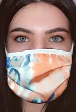 Orange Tie Dye Mask 14