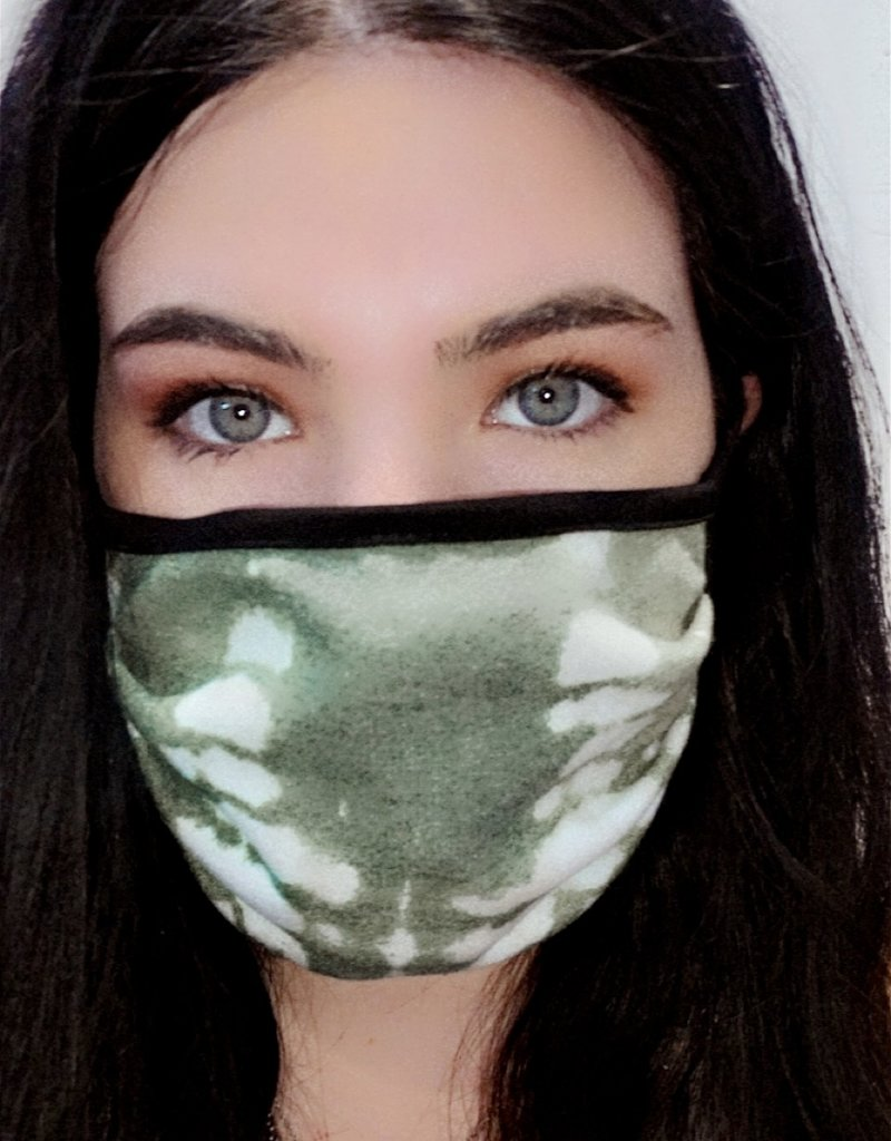 Green & White Mask 11