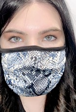 ariella Blue Snake Skin Mask 1