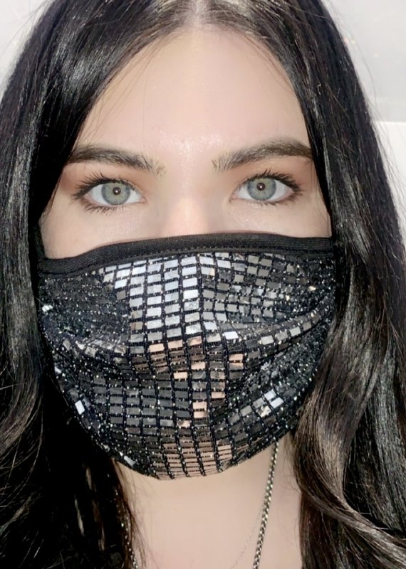 ariella Sparkle Mask 9