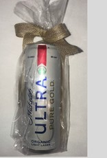 Repurposed Candle Company michelob ultra pure gold candle