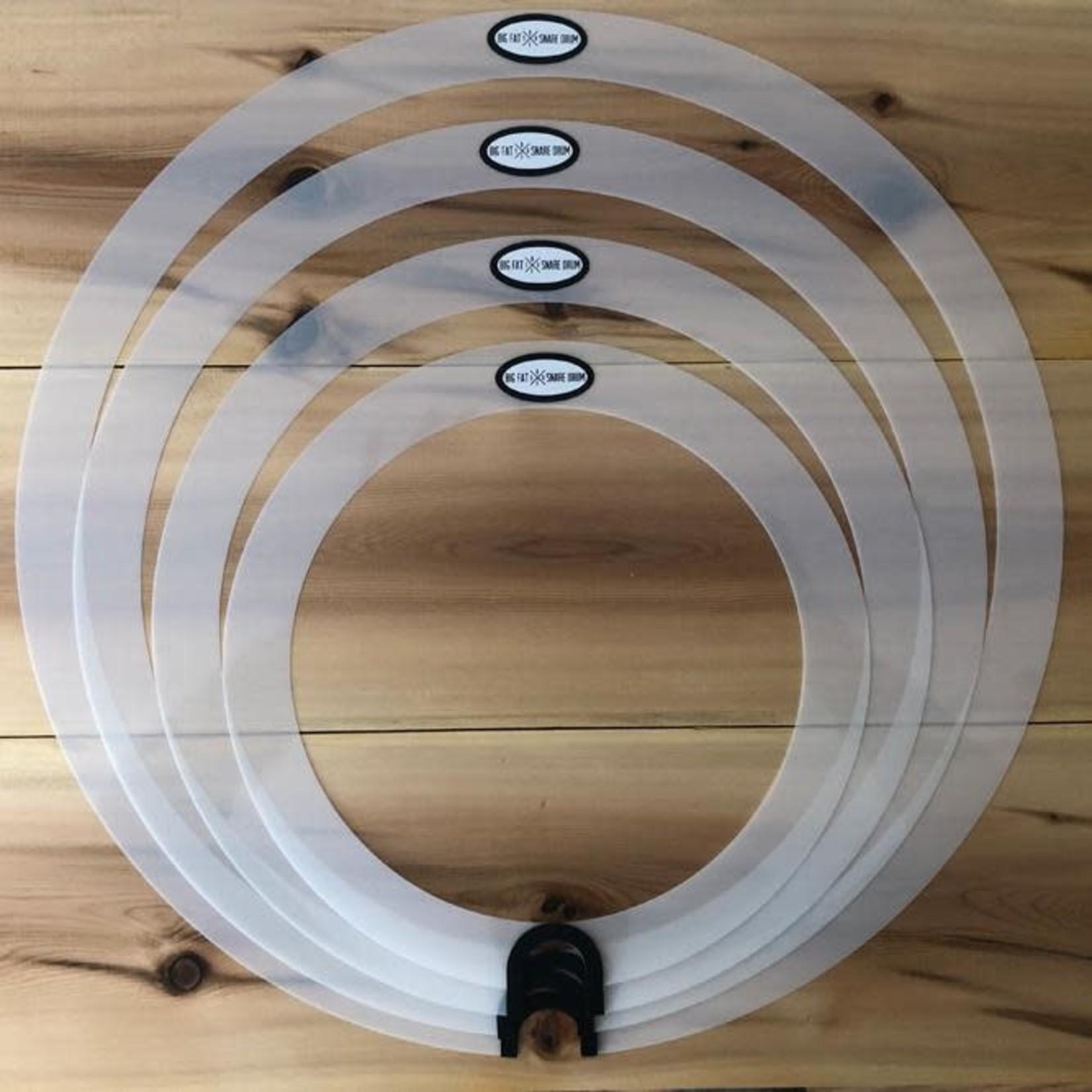 Big Fat Snare Drum BIG FAT SNARE ROUND SOUND 4 PK BFSDSPRS