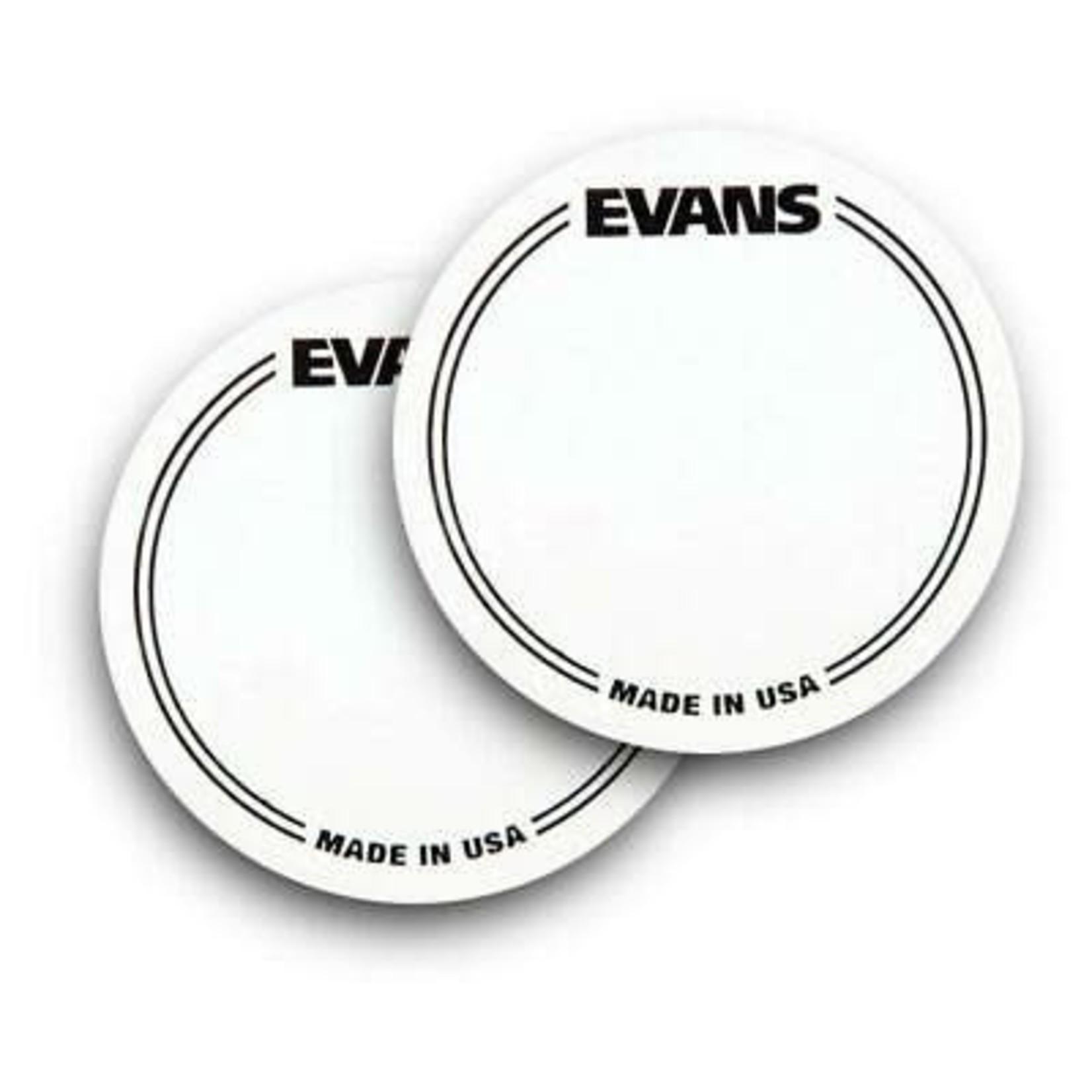Evans EVANS SINGLE BASS DRUM PATCH CLEAR EQPC1