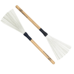 LOS CABOS RED HICKORY WIRE BRUSHES LCDB-RH