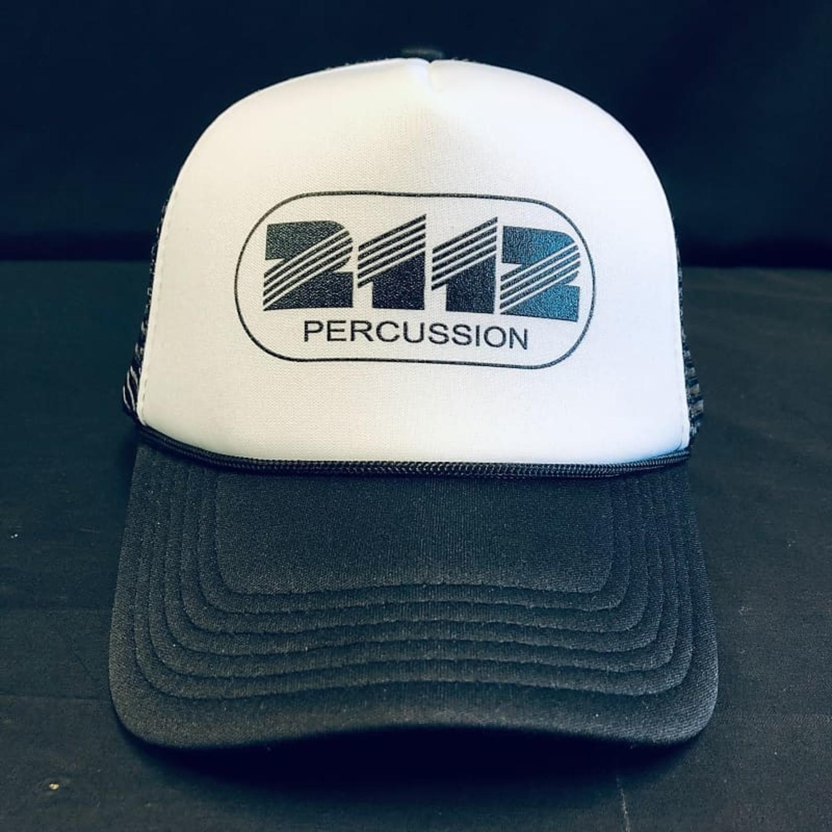 2112 2112 WHITE/BLACK TRUCKER HAT