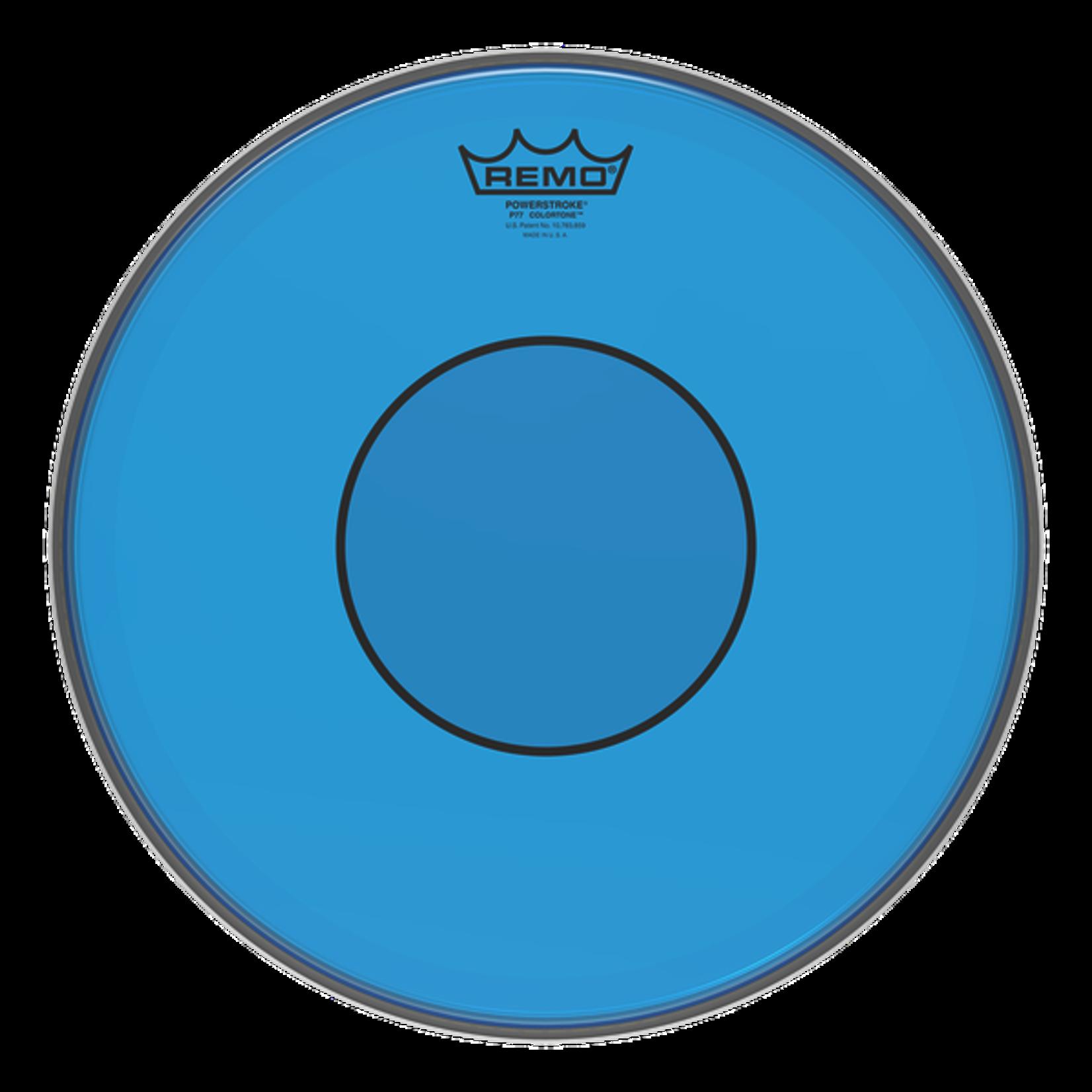 Remo REMO POWERSTROKE 77 COLORTONE BLUE
