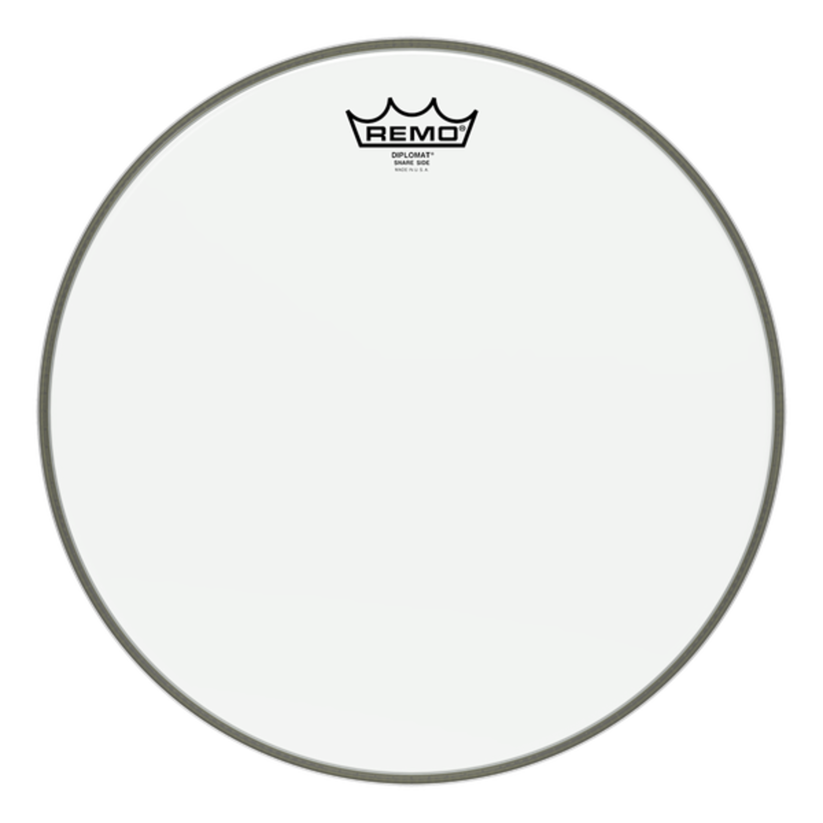 """Remo REMO 14"""" SNARE SIDE DIPLOMAT HAZY SD0114"""