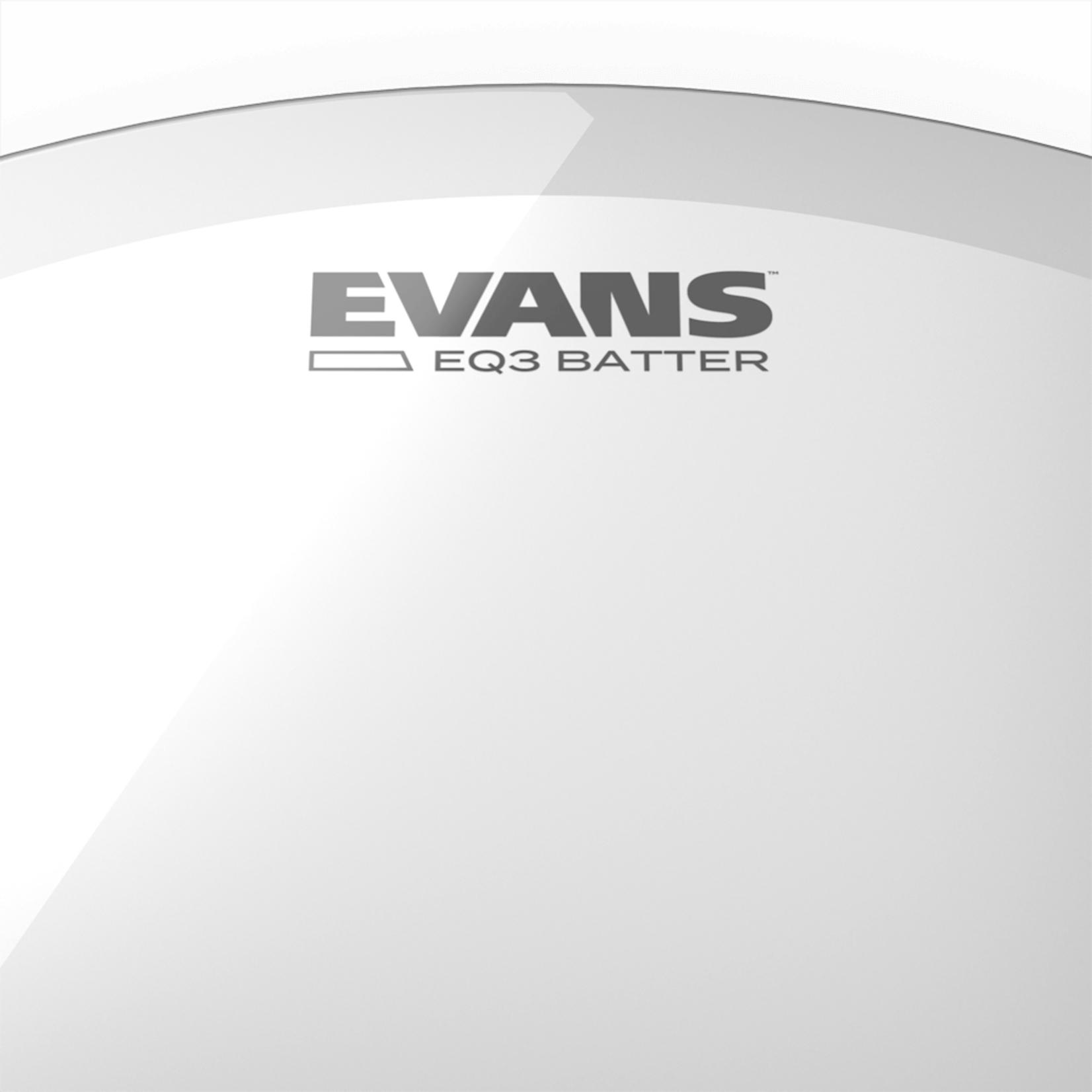 Evans EVANS EQ3 CLEAR BASS  DRUMHEAD