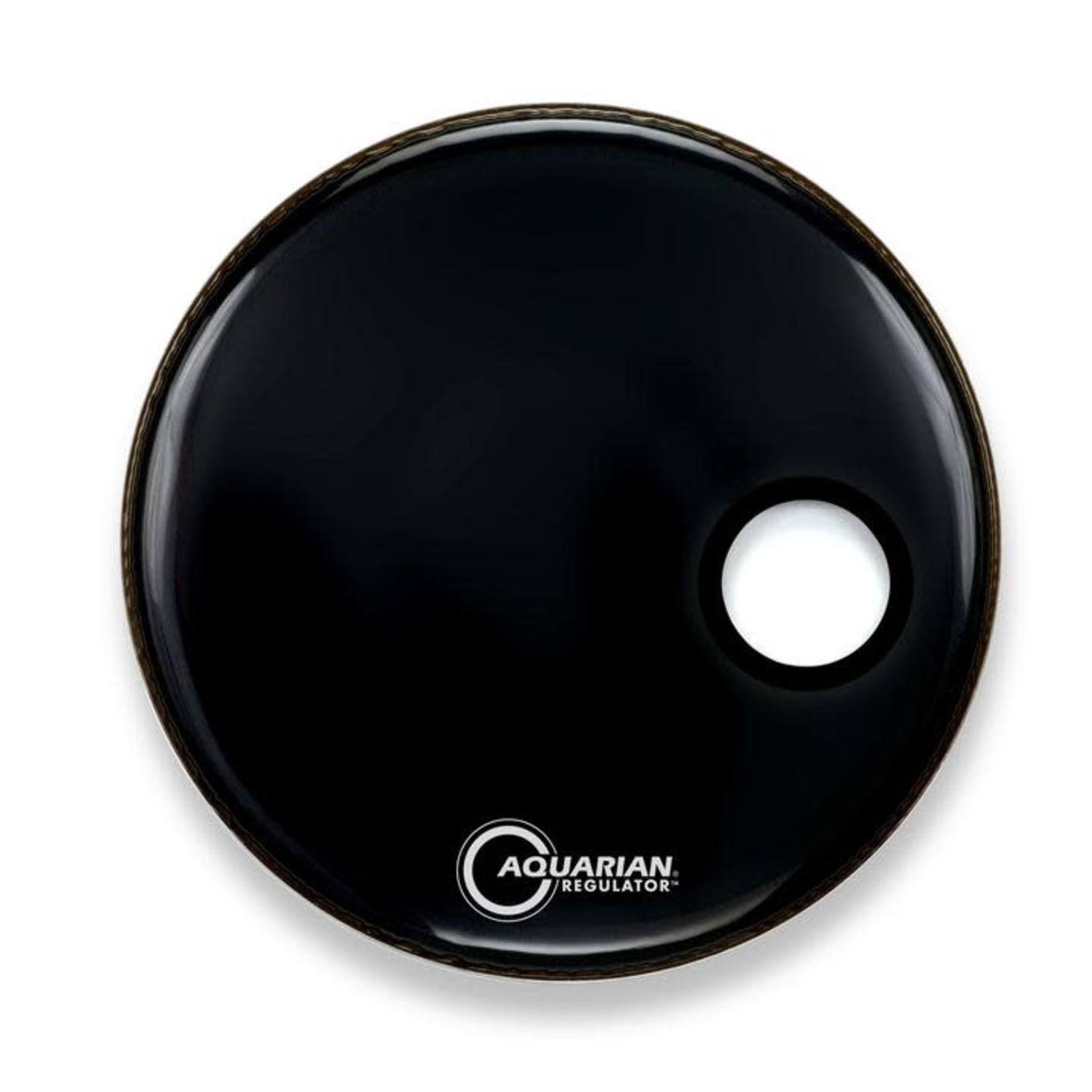 Aquarian AQUARIAN REGULATOR GLOSS BLACK W/ PORT