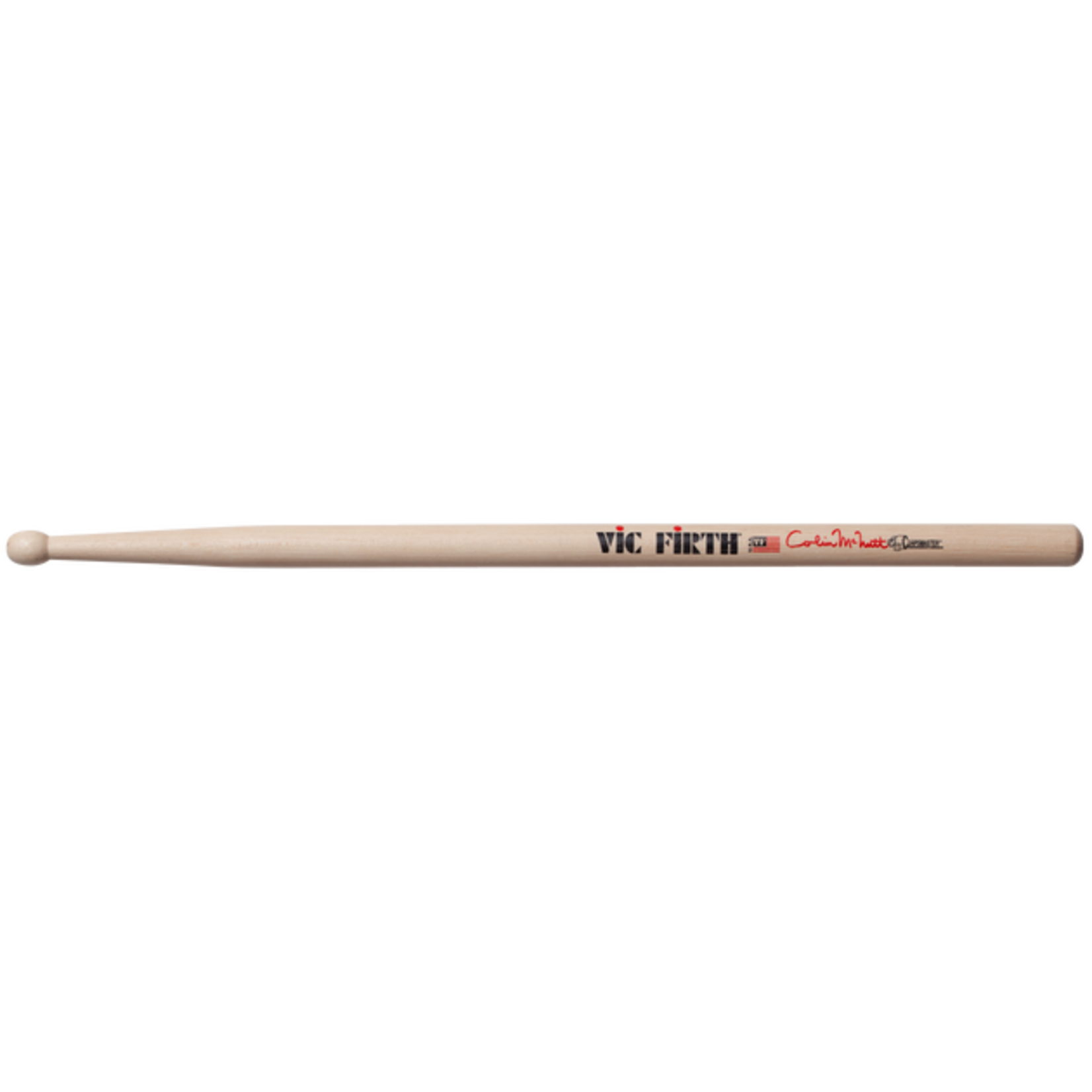 Vic Firth VIC FIRTH CORPSMASTER® SIGNATURE SNARE COLIN MCNUTT WOOD TIP (PAIR)