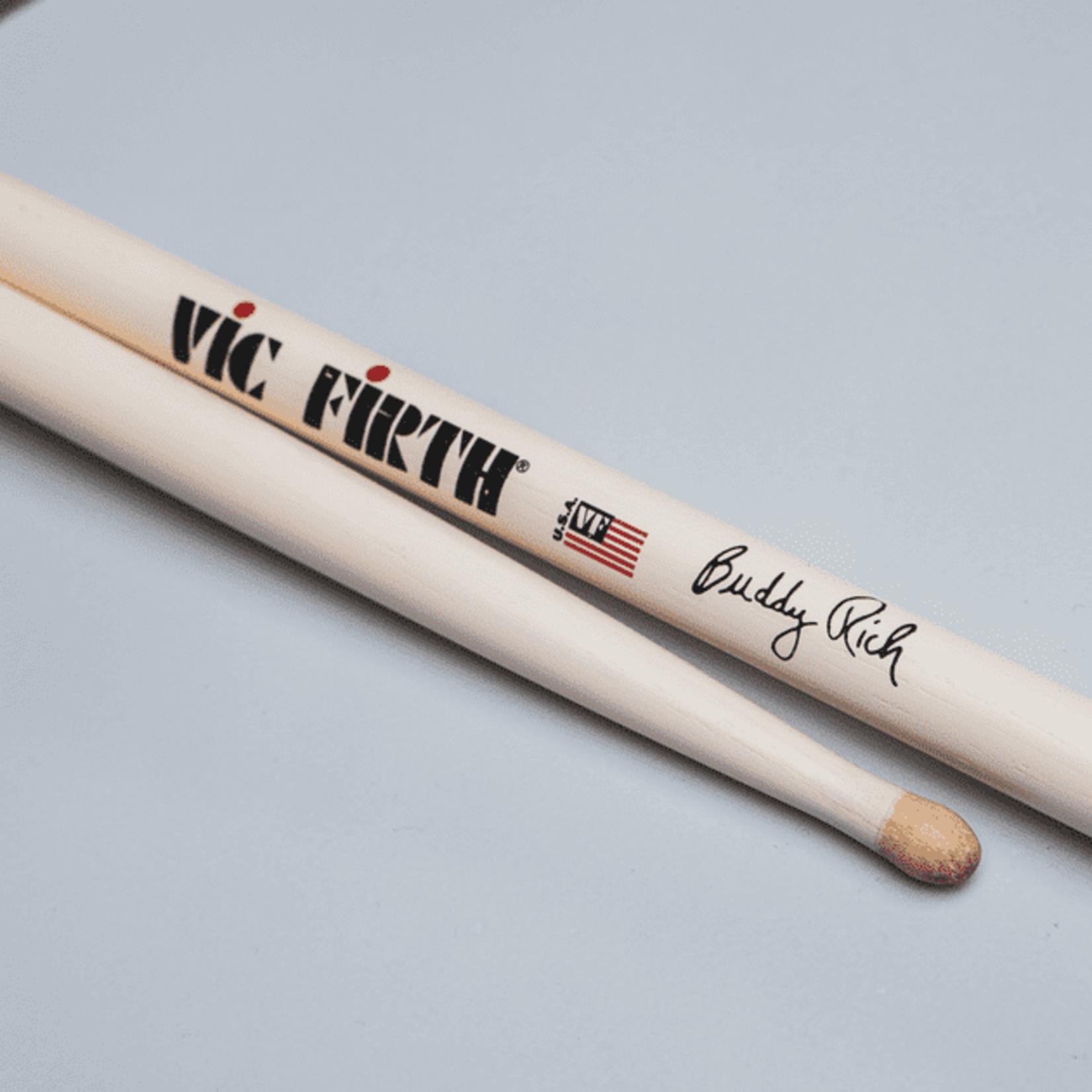 Vic Firth VIC FIRTH SIGNATURE SERIES BUDDY RICH WOOD TIP (PAIR)