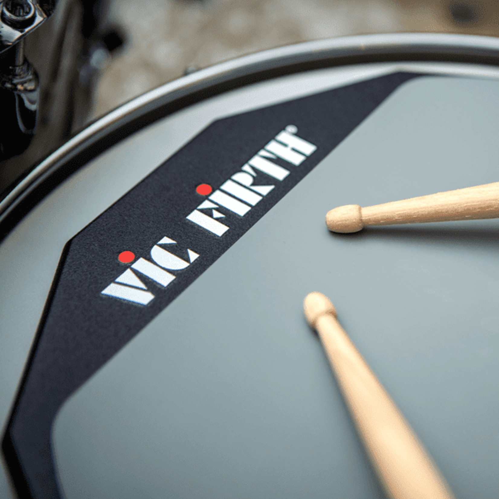 """Vic Firth VIC FIRTH 12"""" DOUBLE SIDE PRACTICE PAD"""