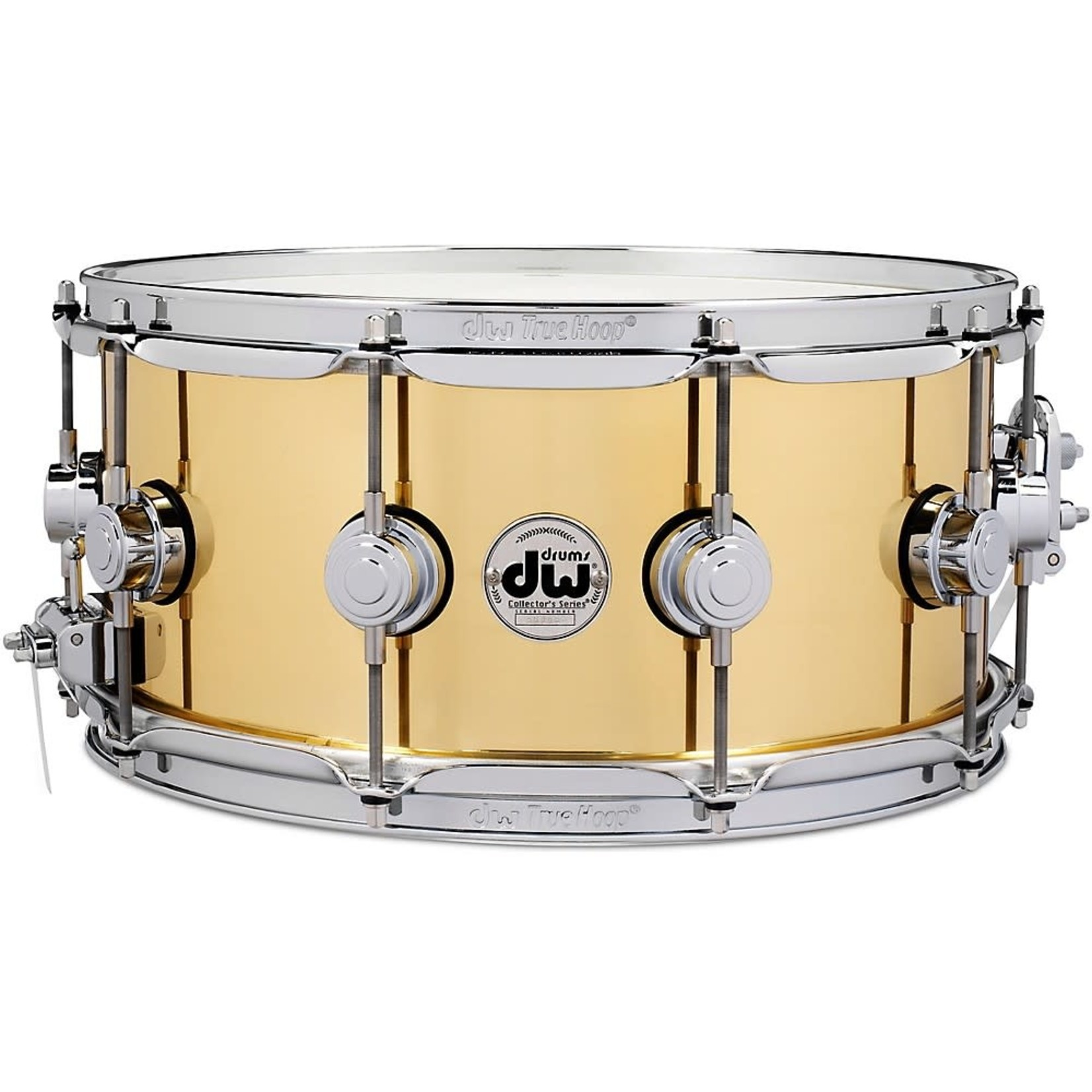 """DW DW SNARE DRUM 6.5x14"""" BELL BRASS SMOOTH FINISH DRVN6514SPC"""