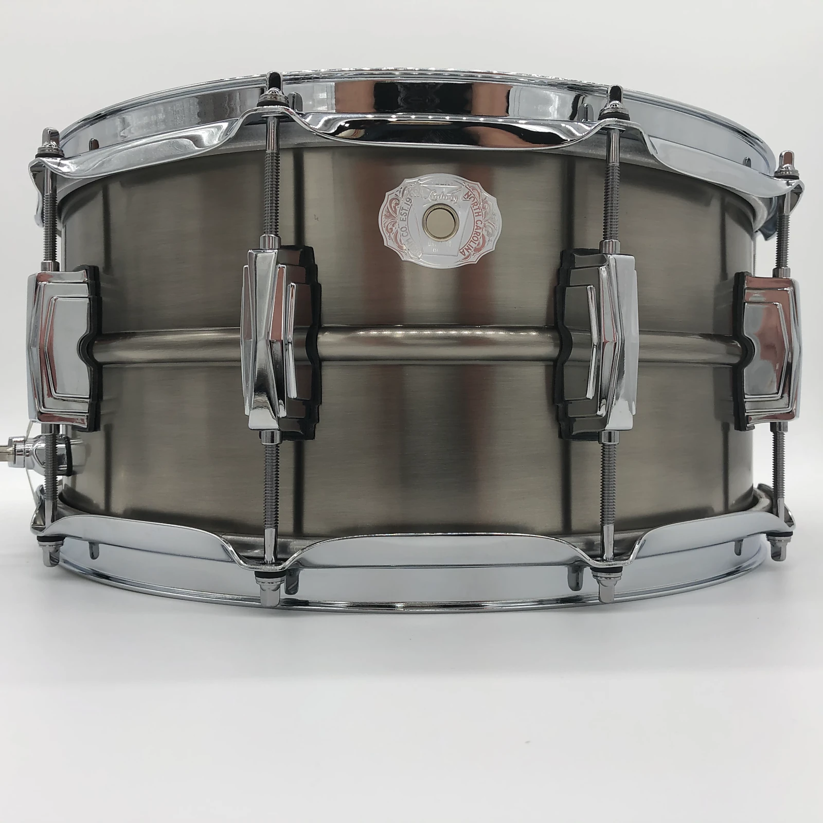"""Ludwig LUDWIG 6.5X14"""" PEWTER COPPERPHONIC SNARE DRUM LC665"""