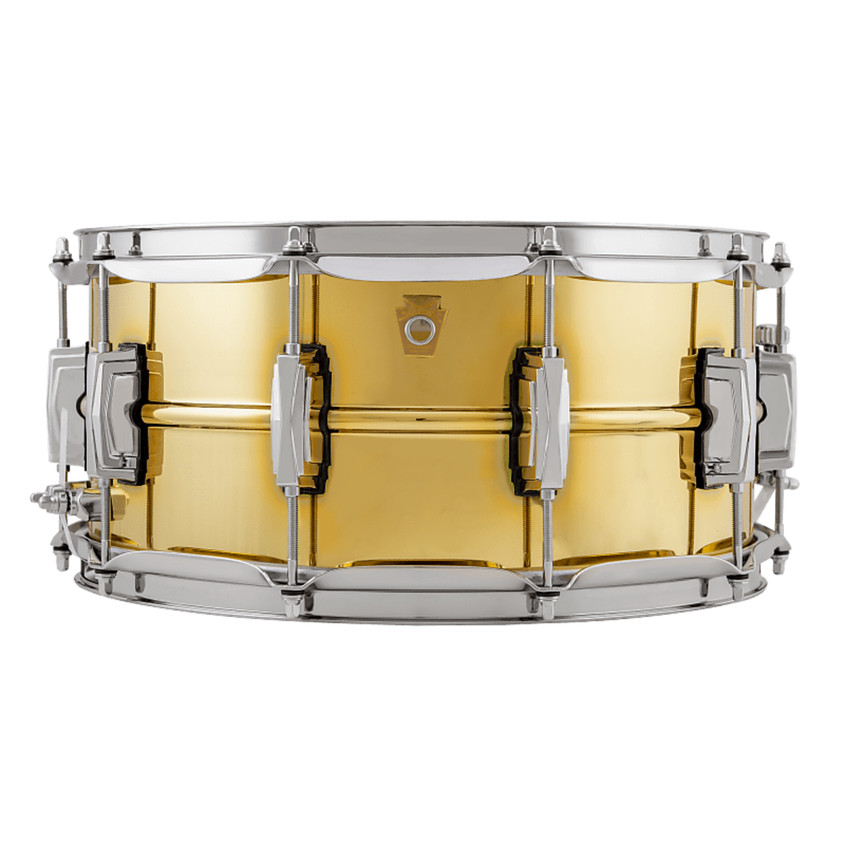 """Ludwig LUDWIG 6.5X14"""" SUPER BRASS SNARE DRUM LB403"""