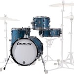Ludwig LUDWIG QUESTLOVE BREAKBEATS 3-PC SHELL PACK (AZURE SPARKLE)