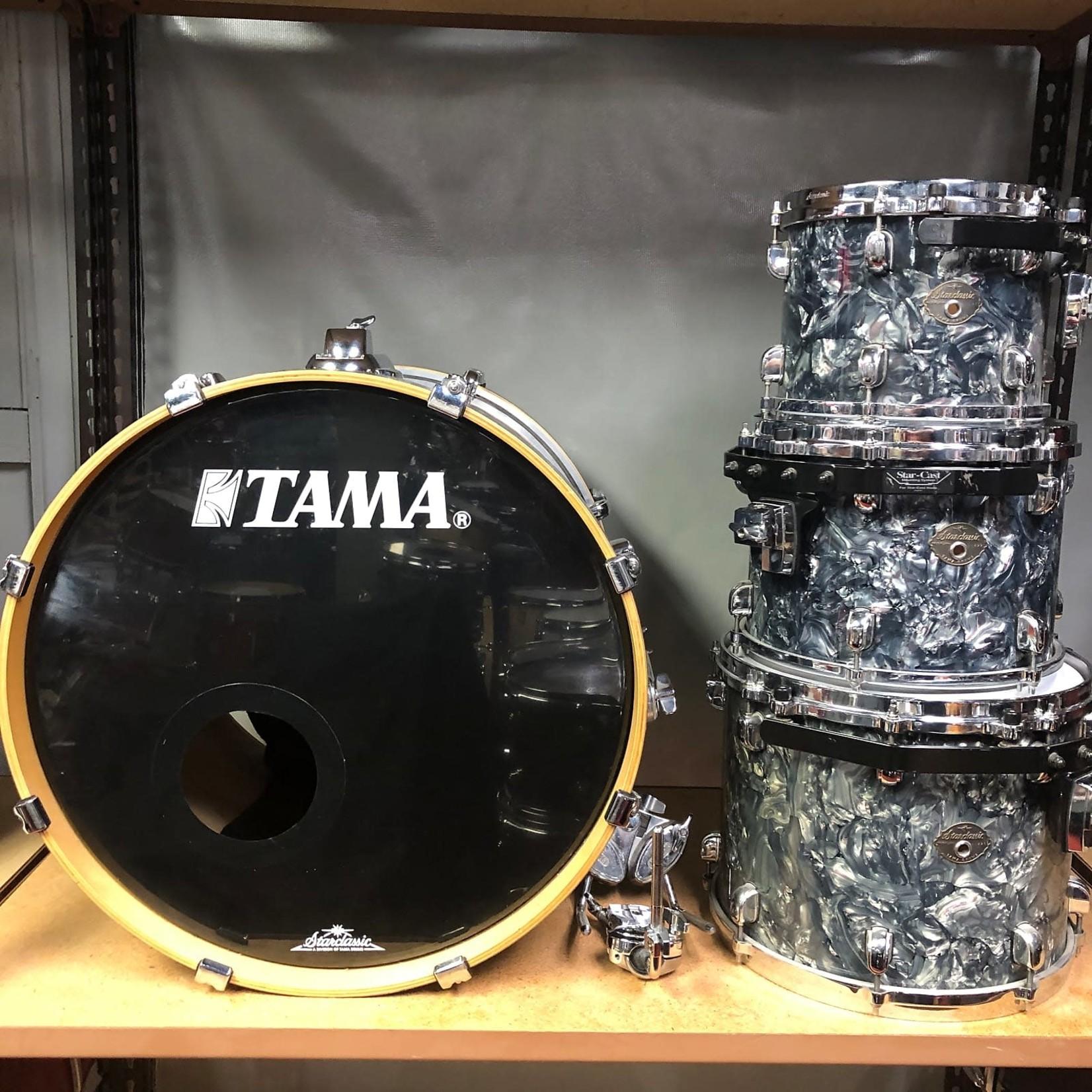 Tama TAMA STARCLASSIC PERFORMER BIRCH 4-PC SHELL PACK 10/12/14/22 (LIQUID METAL)