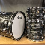 Ludwig LUDWIG CLASSIC MAPLE  DOWNBEAT 3-PC SHELL PACK 12/14/20 (VINTAGE BLACK OYSTER)