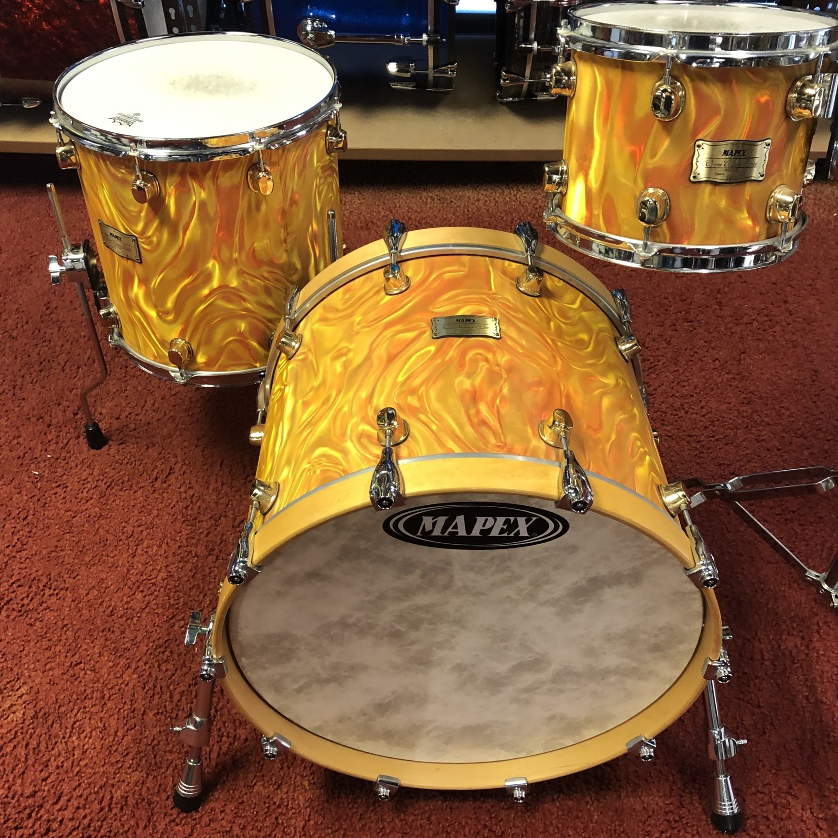 Mapex MAPEX ORION CLASSIC 3-PC SHELL PACK 10/14/20