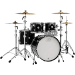 DW DW DESIGN SERIES 4-PC SHELL PACK 10/12/16/22 (GLOSS BLACK LACQUER)
