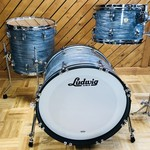 Ludwig LUDWIG CLASSIC MAPLE  DOWNBEAT 3-PC SHELL PACK 12/14/20 (VINTAGE BLUE OYSTER)