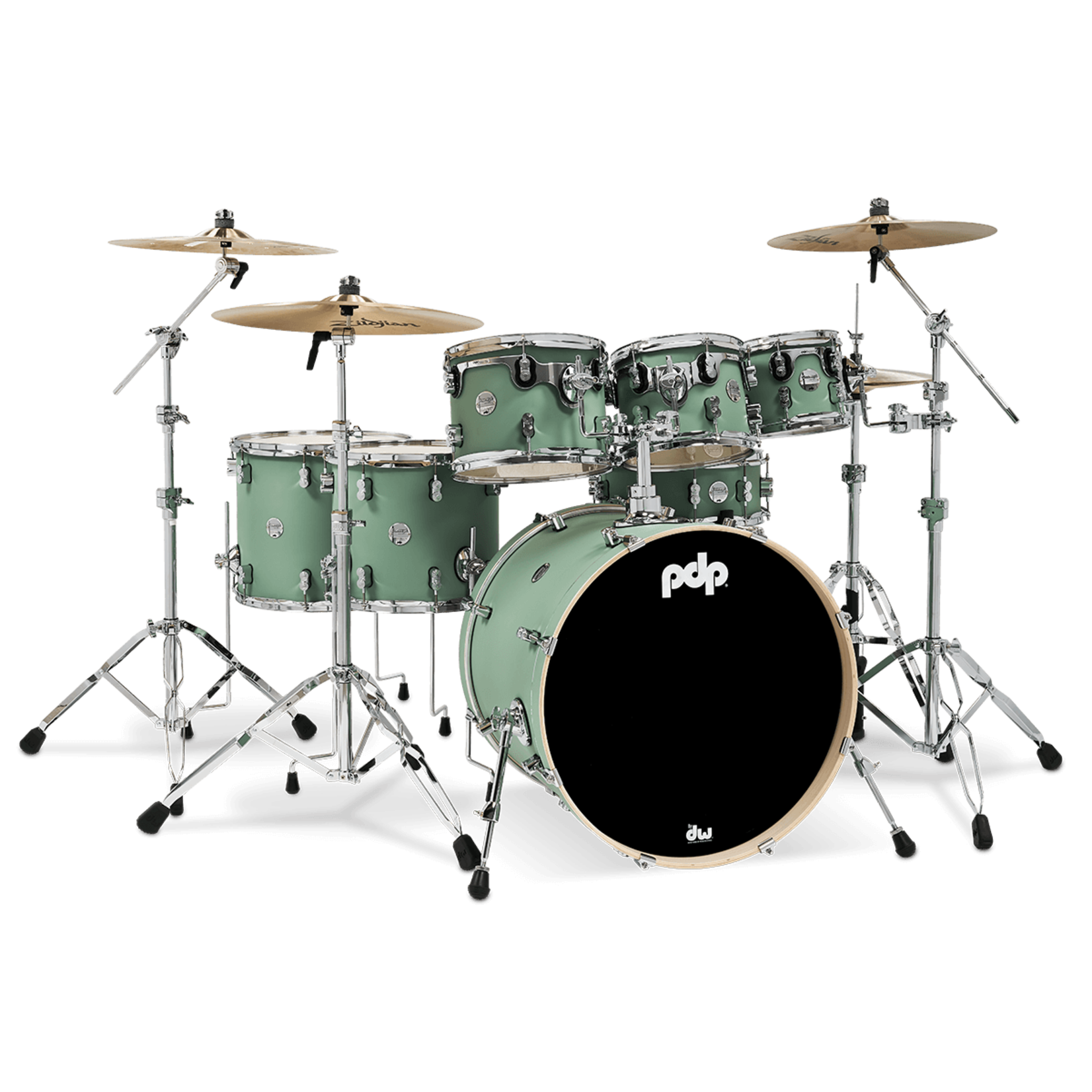 PDP PDP CONCEPT MAPLE 7-PC SHELL PACK (SATIN SEAFOAM)