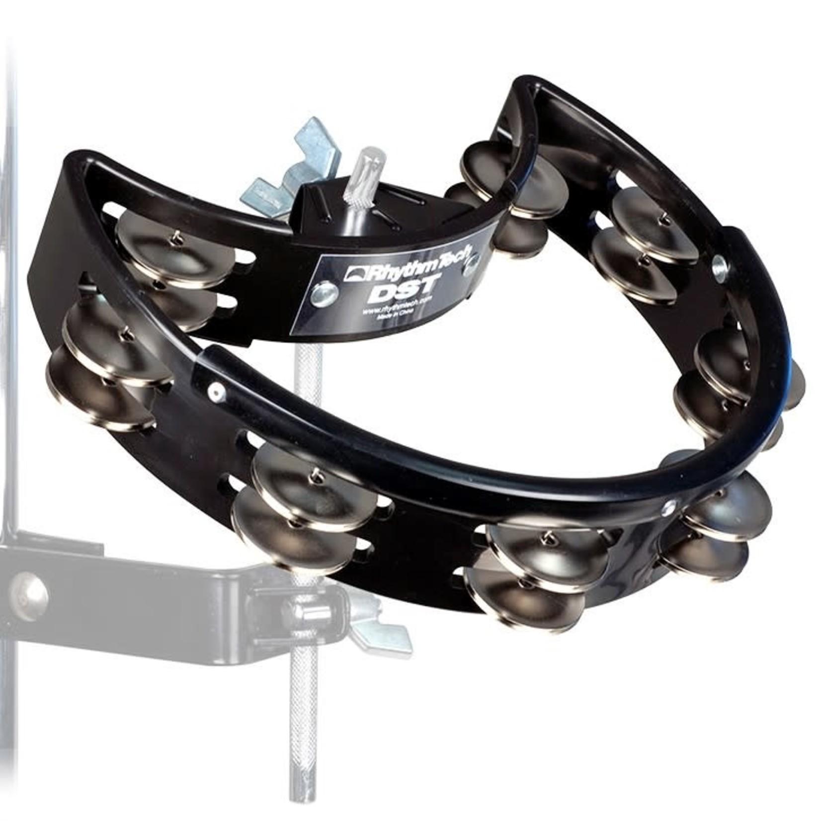 Rhythm Tech RHYTHM TECH DRUM SET TAMBOURINE NICKEL (BLACK)  DST10-U