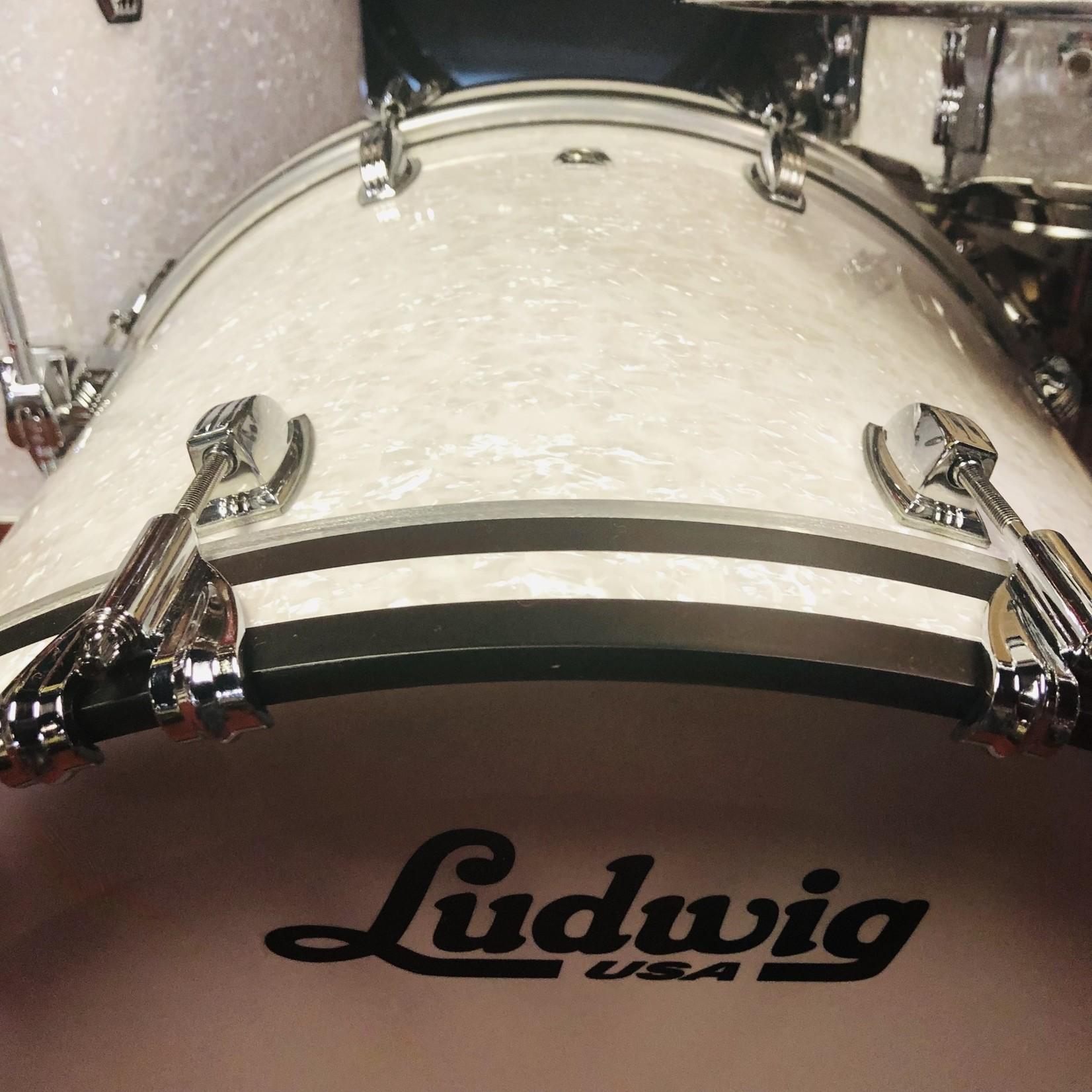 Ludwig LUDWIG CLASSIC OAK 5-PC SHELL PACK 10/12/16/22/14S (WHITE MARINE)